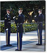 Changing Of The Guards  Canvas Print