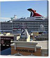 Channelside Tampa Canvas Print