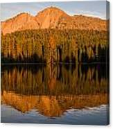 Chaos Crags Reflecting Canvas Print