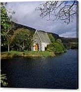 Chapel At Gougane Barra, Co Cork Canvas Print