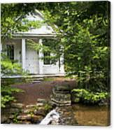 Chapel At Hickory Run State Park Canvas Print