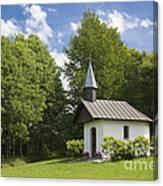 Chapel In Bavaria Germany Canvas Print