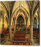Chapel In Dordogne France Canvas Print