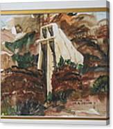 Chapel In Thcliffs Canvas Print
