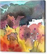 Chapel On Planet Goodaboom Canvas Print