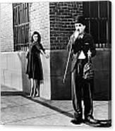 Chaplin: Modern Times, 1936 Canvas Print