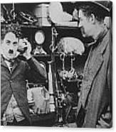 Chaplin: The Pawnshop Canvas Print