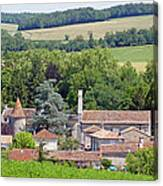 Charente Village Canvas Print