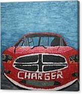 Charger Art By My Son Canvas Print