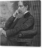 Charles Dickens, English Author Canvas Print