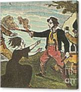 Charles Gibbs, American Pirate Canvas Print