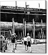 Charles W Morgan Mystic Shiplift Canvas Print