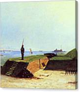 Charleston Battery, 1864 Canvas Print