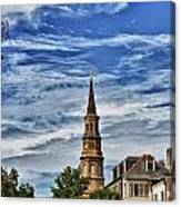 Charleston Church Steeple Canvas Print