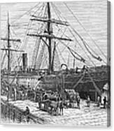 Charleston: Cotton Ship Canvas Print