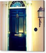 Charleston Door 1 Canvas Print