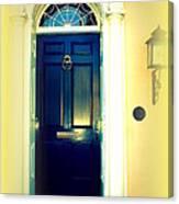 Charleston Door 4 Canvas Print