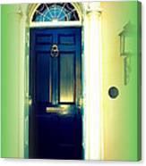Charleston Door 5 Canvas Print