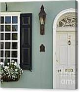 Charleston Doorway - D006767 Canvas Print