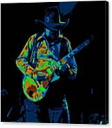 Playing Psychedelic Blues At Winterland In 1975 Canvas Print
