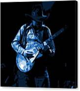 Playing The Blues At Winterland In 1975 Canvas Print