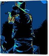 Winterland Cosmic Fiddler Canvas Print