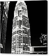 Charlotte North Carolina Bank Of America Building Canvas Print