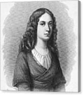 Charlotte Von Schiller Canvas Print