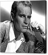 Charlton Heston, 1950s Canvas Print