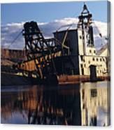Chatanika Gold Dredge, Alaska Canvas Print