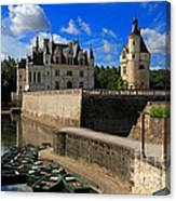 Chateau Chenonceau Loire Valley Canvas Print