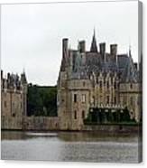 Chateau De La Bretesche Canvas Print
