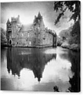 Chateau De Trecesson Canvas Print