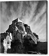 Chateau Des Baux Canvas Print