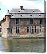 Chateau Feodal De Fernelmont Belgium Canvas Print