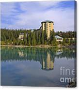 Chateau Lake Louise Canvas Print