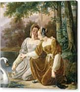 Chatelaines Canvas Print