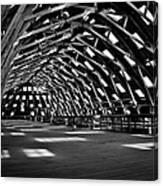 Chatham Dockyard Covered Slip No3 Canvas Print