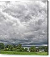Chautauqua Lake Clouds 8625 Canvas Print