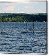 Chautauqua Lake  Canvas Print