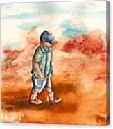 Chayton's Boots Canvas Print