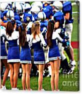 Cheerleaders Canvas Print