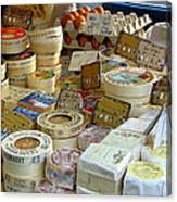 Cheese For Sale Canvas Print