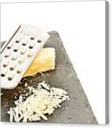 Cheese Grater Canvas Print