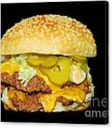 Cheeseburger Canvas Print