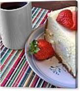 Cheesecake Canvas Print