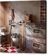 Chef - Baker - The Bread Oven Canvas Print