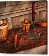 Chef - Food - Equipment For Making Latkes Canvas Print