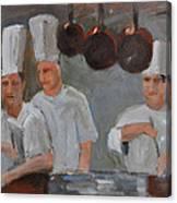 Chef's Secret Canvas Print