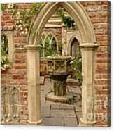 Chelsea Stone Archway Canvas Print